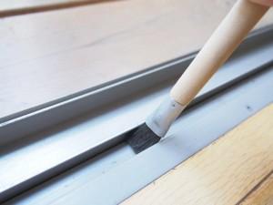 藤本虎の桟ブラシ。手植えブラシの硬さがちょうどいい。
